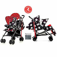 NEW COSATTO SHUFFLE TANDEM STROLLER DOUBLE PUSHCHAIR BUGGY HIPSTAR