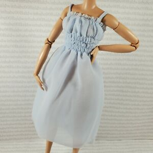 COCKTAIL C~BARBIE DOLL MADE TO MOVE SIGNATURE @BARBIESTYLE GOLD LABEL BLUE DRESS
