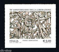 ITALIA 1 FRANCOBOLLO ANNIVERSARIO DELLA LIBERAZIONE FOSSE ARDEATINE 2015 nuovo**