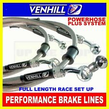 SUZUKI 650 GLADIUS 2009-ON, VENHILL stainless steel braided brake lines CL