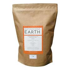 Diatomaceous Earth No-Grit Superfine Food Grade Powder 1kg - Buy 1 get 1 free