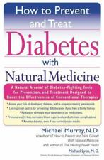 How to Prevent and Treat Diabetes with Natural Medicine-ExLibrary
