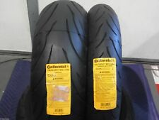 CONTINENTAL SPORT BIKE 2 TIRE SET 120/70-17 190/50-17 120/70ZR17 & 190/50ZR17