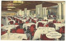 Interior View The Celtic Room Hotel Continental Chicago IL Illinois Postcard