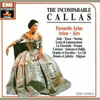 The Incomparable Callas (Favourite Arias) (CD, Sep-1989, EMI Music Dist)