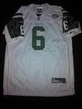 New York Jets Mark Sanchez #6 Sz 52 Reebok Onfield Authentic Jersey White NWT