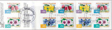 1999 Coastal Flowers 10 x 45c Stamp Booklet - CTO Melbourne Vic