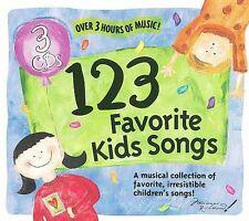 NEW - 123 Favorite Kids Songs 1-3 by 123 Favorite Kids Song