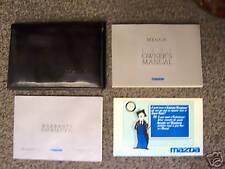 1991 Mazda 626 MX 6  Owner's Manual & Warranty Booklet