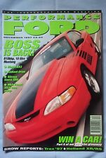 Performance Ford Magazine - s2 Escort RS turbo,XR3 rieger,orion,Boss Mustang,XR6