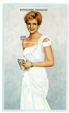 princess diana white chiffon evening dress commemorative  sheet