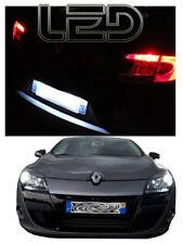 Renault MEGANE 3 Kit 4 ampoules LED Blanc Veilleuses Plaque  Anti erreur ODB
