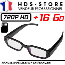 Glasses Camera Spy VUECAM3 HD 720P+ Micro SD 16 GB Video Photo