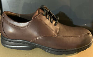 MENS DUNHAM BRYCE BROWN LACE UP SIZE 10.5 D