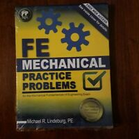 FE Mechanical Practice Problems by PE Lindeburg Michael R (2014, Trade...