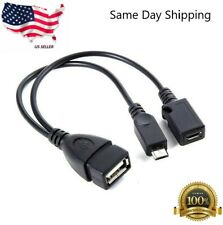 Micro USB Host OTG Cable with USB Power for Samsung / HTC / Nexus / LG Phones