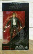 Star Wars The Force Awakens #18 Han Solo Action Figure Hasbro Black Series 1:8
