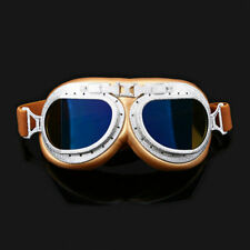 Goggles Retro Vintage Aviator Pilot Race Goggles Wind Sunglasses Colorful Lens