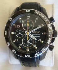 Seiko Sportura Leather Band Men's Watch