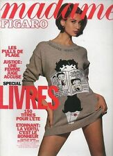 madame FIGARO 30/06/1990 marie france pisier pacome