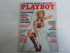 PLAYBOY FEBRUARY 1985 GIRLS OF TEXAS PAPER DOLLS CHERIE WITTER (599)