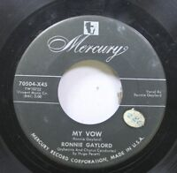 50'S & 60'S 45 Ronnie Gaylord - My Vow / Santo Natale On Mercury