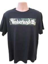 TIMBERLAND XL X-LARGE CAMO BLACK GRAPHIC T-SHIRT  MEN'S GIFT SUMMER  AUTH BNWT