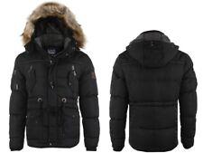 Cipo&Baxx Hombre PARKA chaquetón de invierno cm107