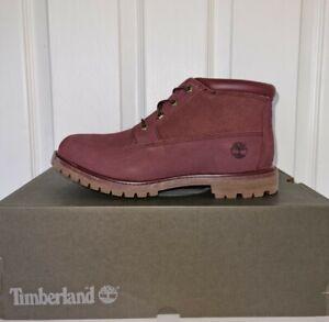 Timberland Nellie Chukka Boot Dark Brown/Burgandy Uk8 Eu41.5 rrp£120