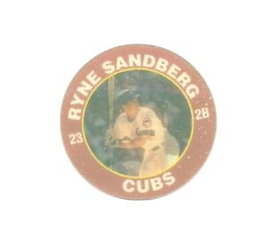 Ryne Sandberg 1992 Superstar Action Coin 7/11 Chicago Cubs 15 Of 26