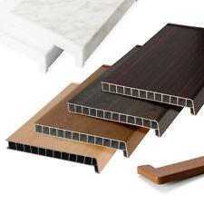Fensterbänke Fensterbank Fensterbrett Innenbereich Kunststoff Farbenreichtum NEU