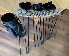 Meridian Golfset, Golfschläger, Vollsatz, LINKSHAND, Herren, Graphit, gebraucht