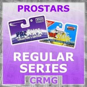 CRMG Corinthian ProStars SERIES 1 (choose from list)