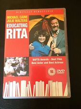 Educating Rita (DVD, 2003) michael caine, julie walters, region 2 uk dvd