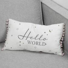 Bambino Linen Cushion Hello World