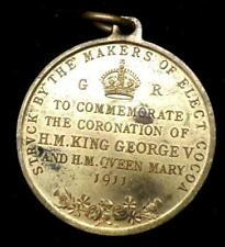 1911 George V Coronation Medal Struck By The Makers Of Elect Cocoa