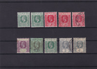 fiji mounted mint and used stamps  ref r15627