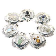 Natural Gemstone Crystal Healing Reiki CHAKRA Owl Pendant Necklace
