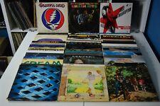 CLASSIC ROCK LOT #15 48 LPs GRATEFUL DEAD U2 BOB DYLAN CCR TRAFFIC JIMI HENDRIX