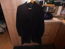 Rare 1920s Bespoke Black Morning  Dress Tail coat Chest size 36""