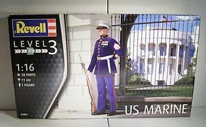"08 118 Modellbausatz Revell 02804 ""US Marine"",1/16"