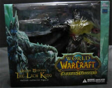 World of Warcraft WOW Arthas Menethil The Lich King Dluxe Collector Figure Boxed