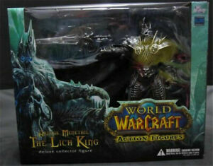 Collector Figure Boxed World of Warcraft  Arthas Menethil The Lich King Dluxe