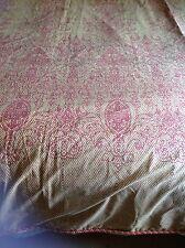 Beautiful Dorma King Duvet Cover Terracotta Gold Corded Edge Exc Condo