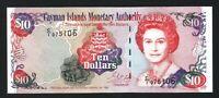 Cayman Islands 10 Dollars 1998, UNC, P-23, Prefix C/1