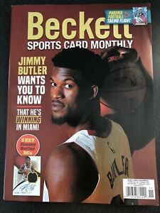 New November 2020 Beckett Sports Card Monthly Price Guide Magazine--Jimmy Butler