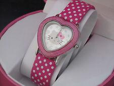 MZ BERGER New Hello Kitty Girls Ladies Wrist Quartz Watch HKAQ5329 With Gift Box