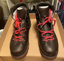 Hanwag Leather Mountain Boots Mens US Size 10.5 Made In Germany