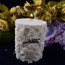 Cylinder Silicone Candle Molds Handmade Soap Candle Molds Jelly Pudding Mould