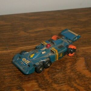 AURORA G-PLUS 6 WHEEL #4 ELF HO SLOT CAR
